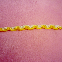 Yellow Wave Bracelet