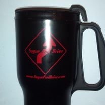 Sugar Red Drive Travel Mug