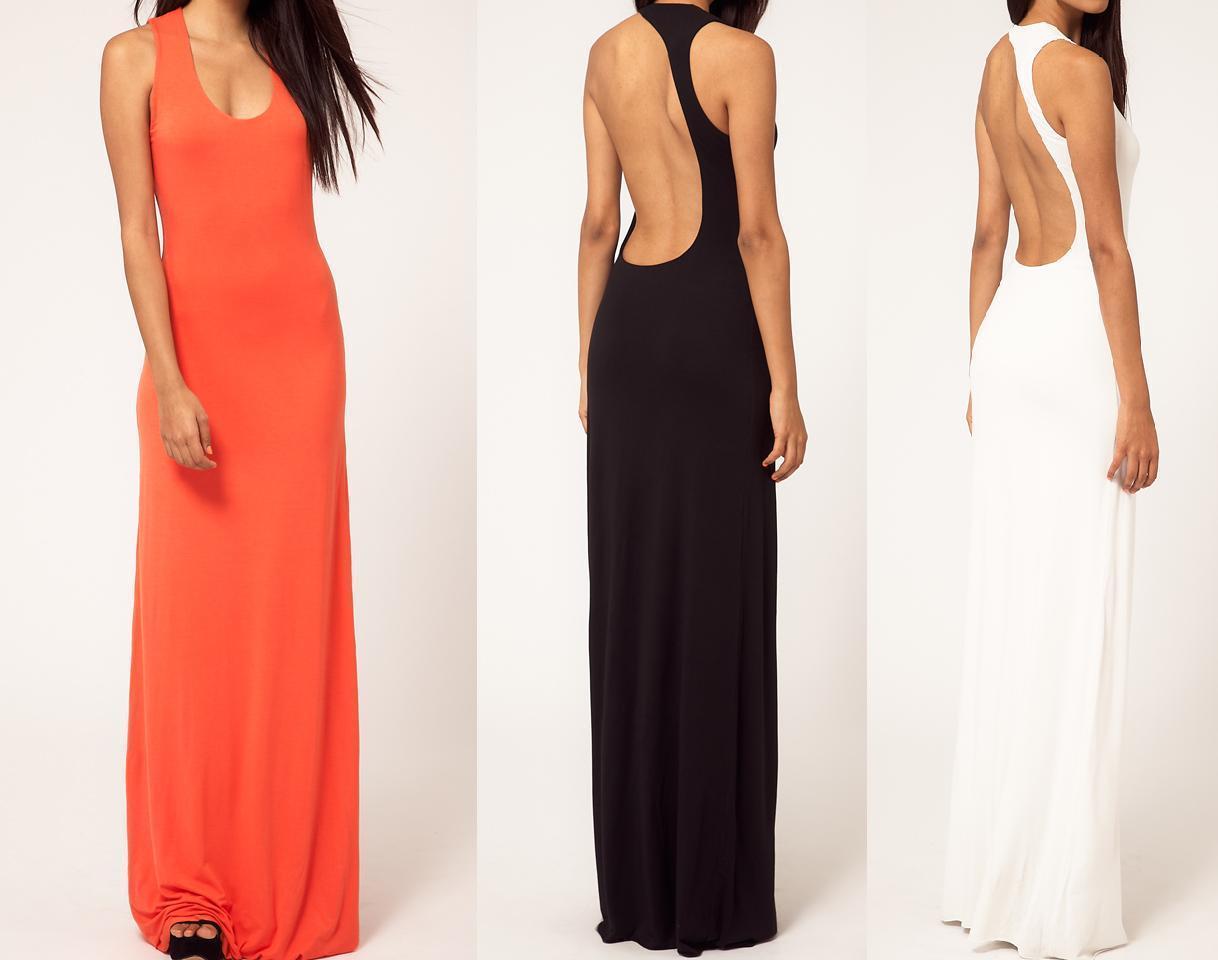 Длинное Платье С Открытой Спиной Купить