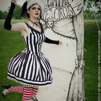 Gloomth's Haunted Circus Spelterini Dress