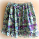 Purple flower skirt - Thumbnail 1