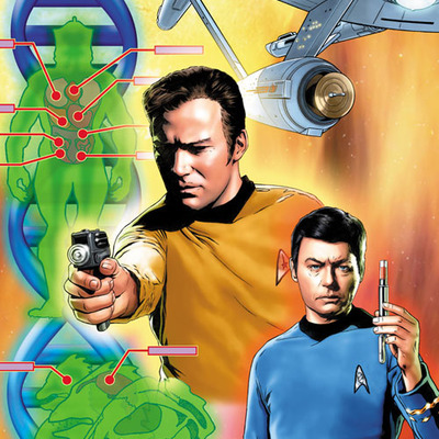 Star trek: the original series: burden of knowledge #4 artist print