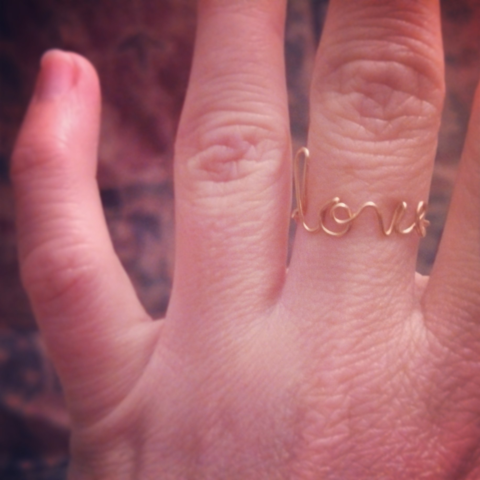 Custom Word Rings · AU Collective · Online Store Powered by Storenvy