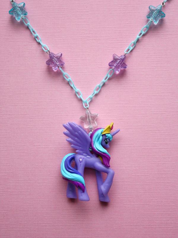 Kawaii jewelry kawaii my little pony princess luna necklace kawaii my little pony princess luna necklace thumbnail 1 mozeypictures Gallery