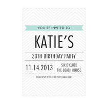printable birthday invitation | tanoshi