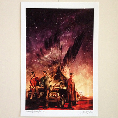 Carry on my wayward son (print)