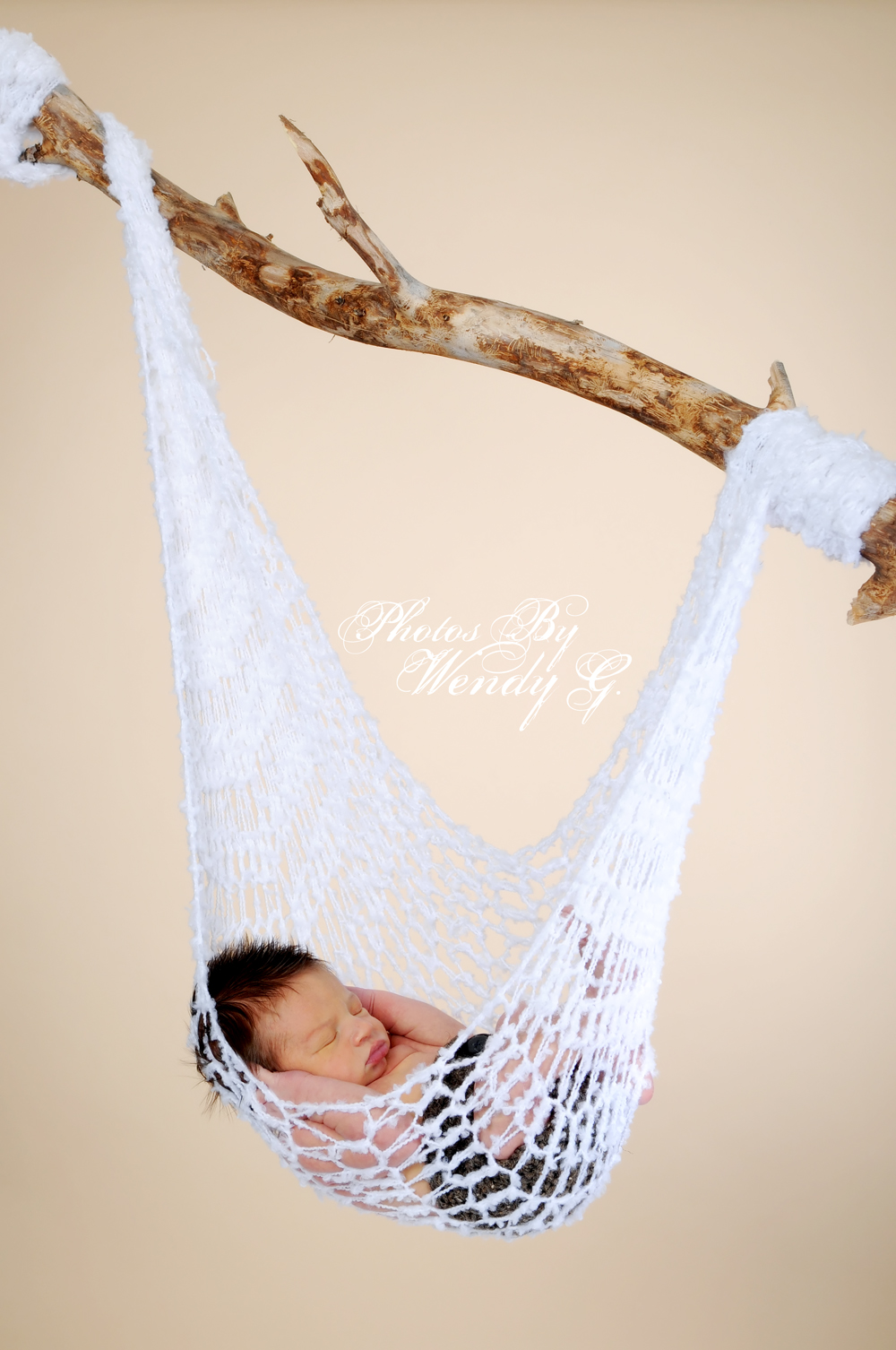 Medium image of crochet baby hammock photography prop