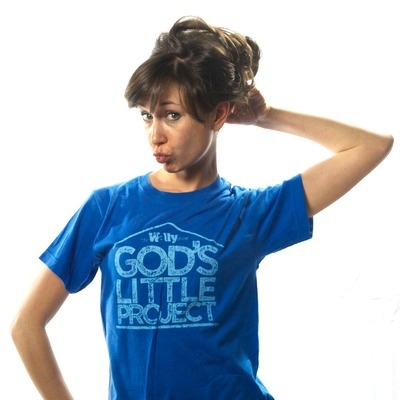 God's little project t-shirt