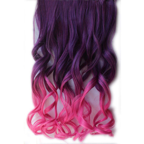 curly rainbow hair extension clipin on storenvy. Black Bedroom Furniture Sets. Home Design Ideas