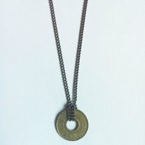Transit Token Necklace