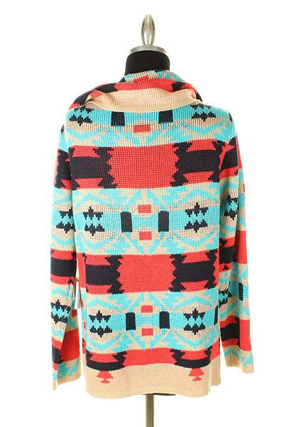 RESTOCK Aztec Tribal Cardigan Sweater Emily Maynard · Southern ...