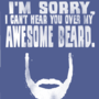 Awesome Beard T-shirt - Thumbnail 1