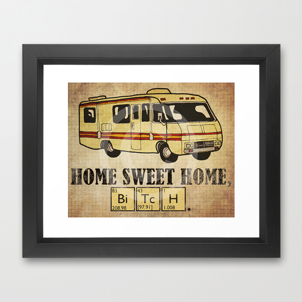 Jenndalyn Art gt; Funny Quote Prints gt; Home Sweet Home, Bitch  16 x 20