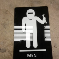 Men's Room Welder