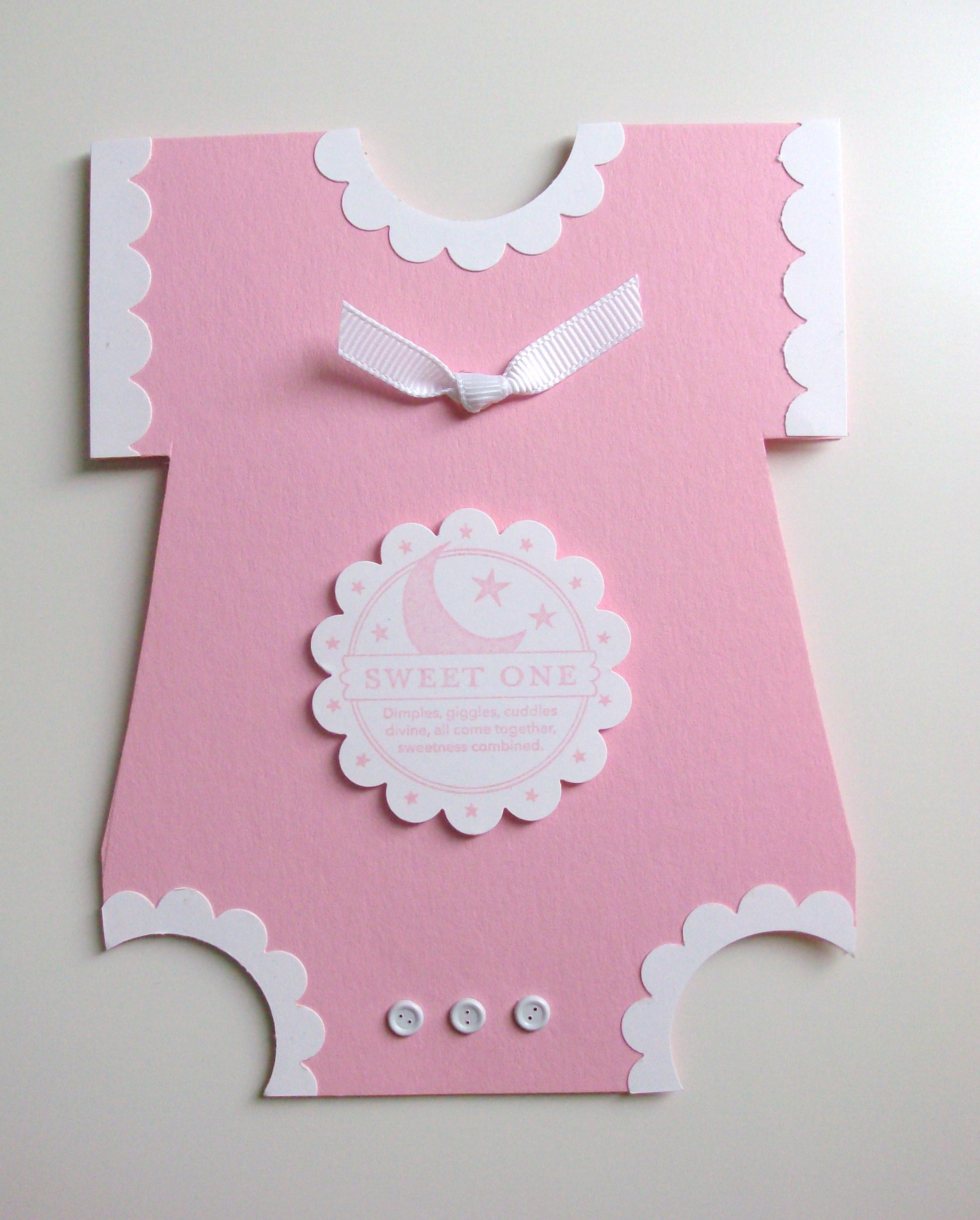how to write a card for new baby girl