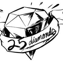 25 DIAMONDS RECORD LABEL