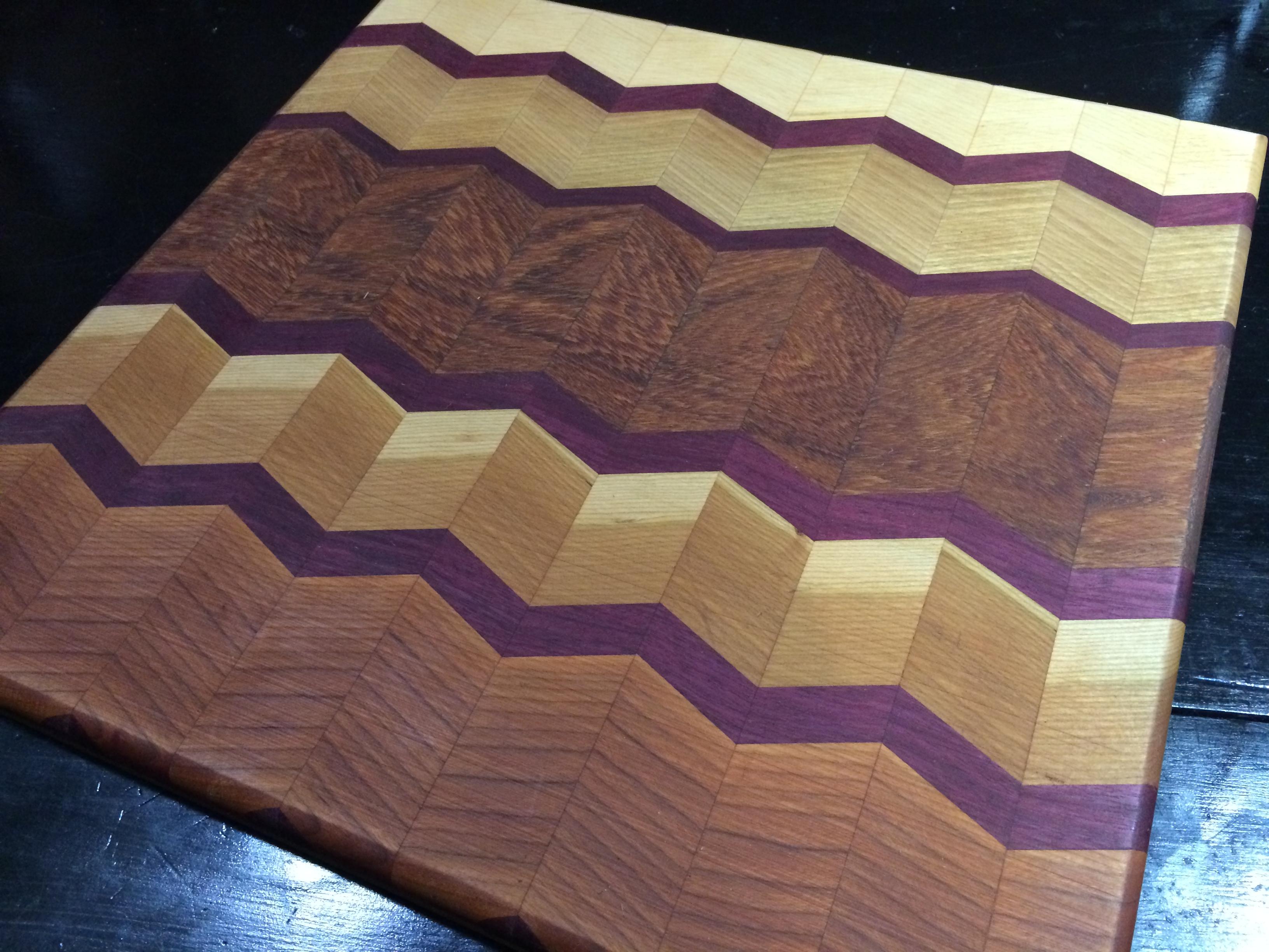 Workhome Idea: Here Herringbone Cutting Board Plans