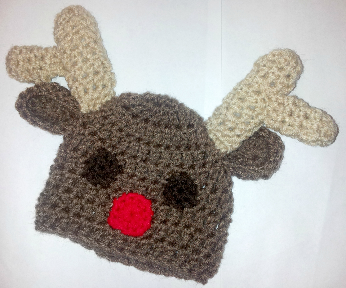 Newborn Crochet Reindeer Hat · Skylay Designs · Online Store Powered ... 5015fc224c2