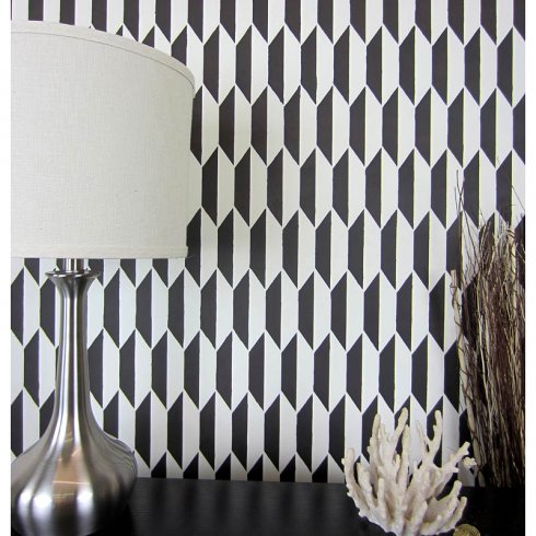 Prism Allover Stencil Pattern - Large Scale - Reusable wall stencils for  easy DIY home decor! sold by Cutting Edge Stencils