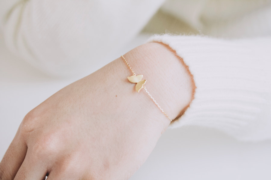 Simple Butterfly Bracelets Girls Bracelets Women Bracelets Bling