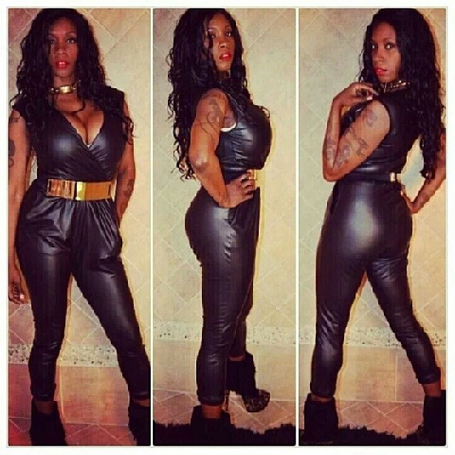 9acb4b46c4b5 FAUX LEATHER ONE PIECE JOGGER · Liz Boutique · Online Store Powered ...