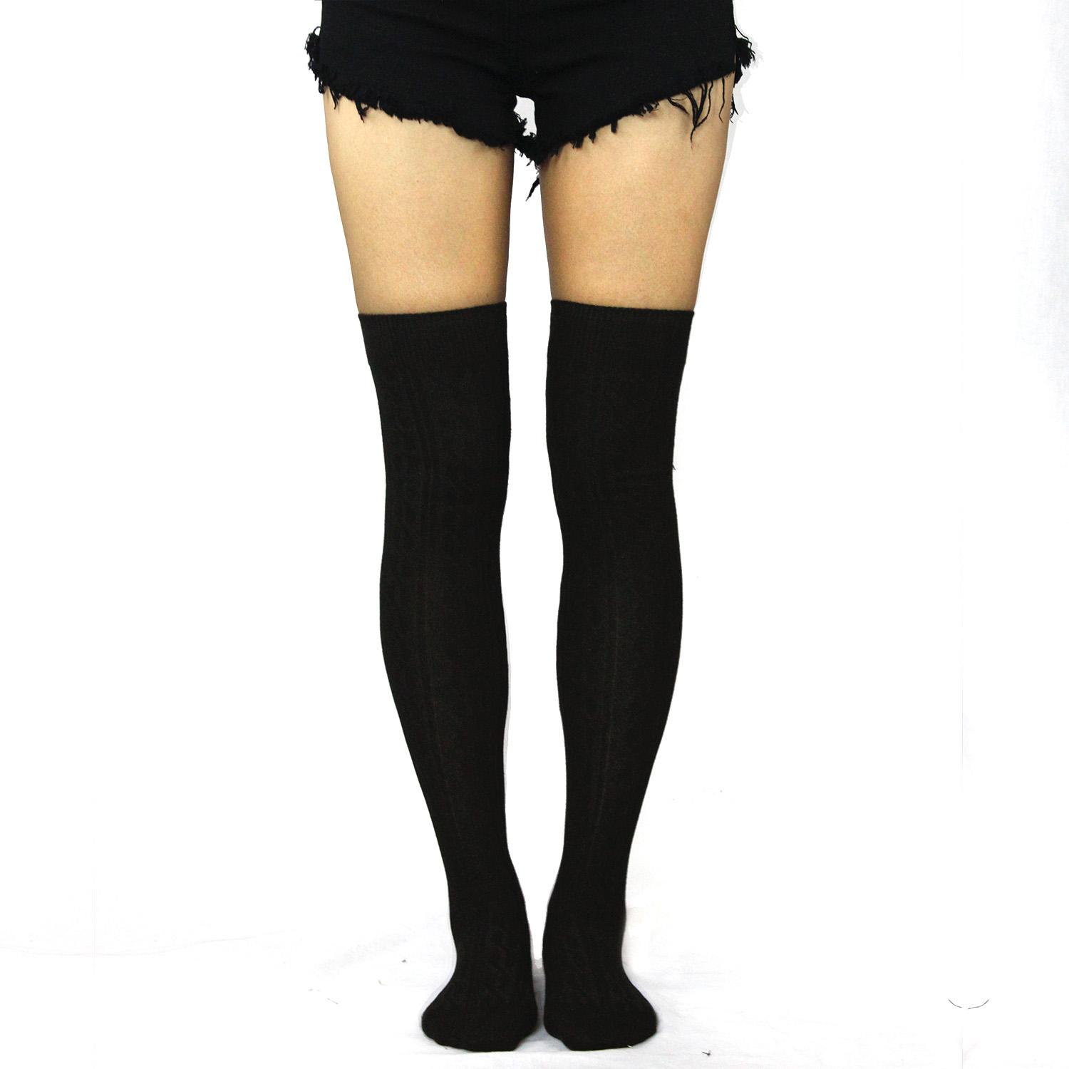 We offer premium hosiery, thigh highs, and over the knee thigh high socks in a variety of colors and styles! Our netted thigh highs come in different variations that .