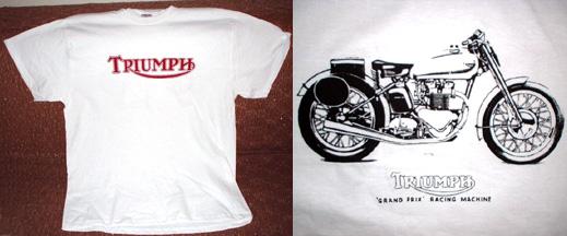 1966 isle of man motorcycle t shirt triumph mv agusta · j's