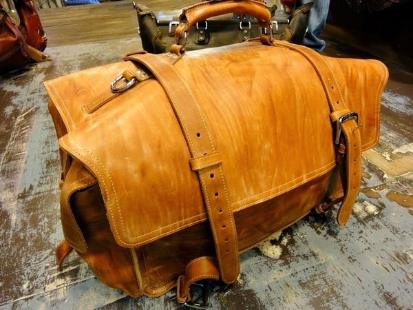 9d9df0d67 Leather Duffle Bag - XXL - heavy duty · Old School Leather Bags ...