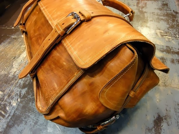 Leather Duffle Bag - XXL - heavy duty · Old School Leather Bags ... 82035d0e75a11