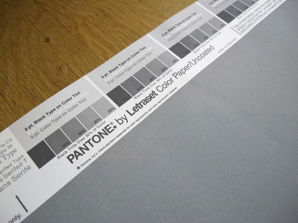 Vintage Pantone 174 Poster Cool Grey 6u On Storenvy