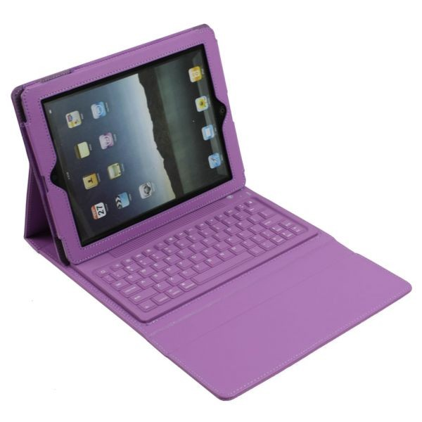 9d78551080e Exquisite ipad 2 wireless bluetooth keyboard stand case purple 20(1)  original