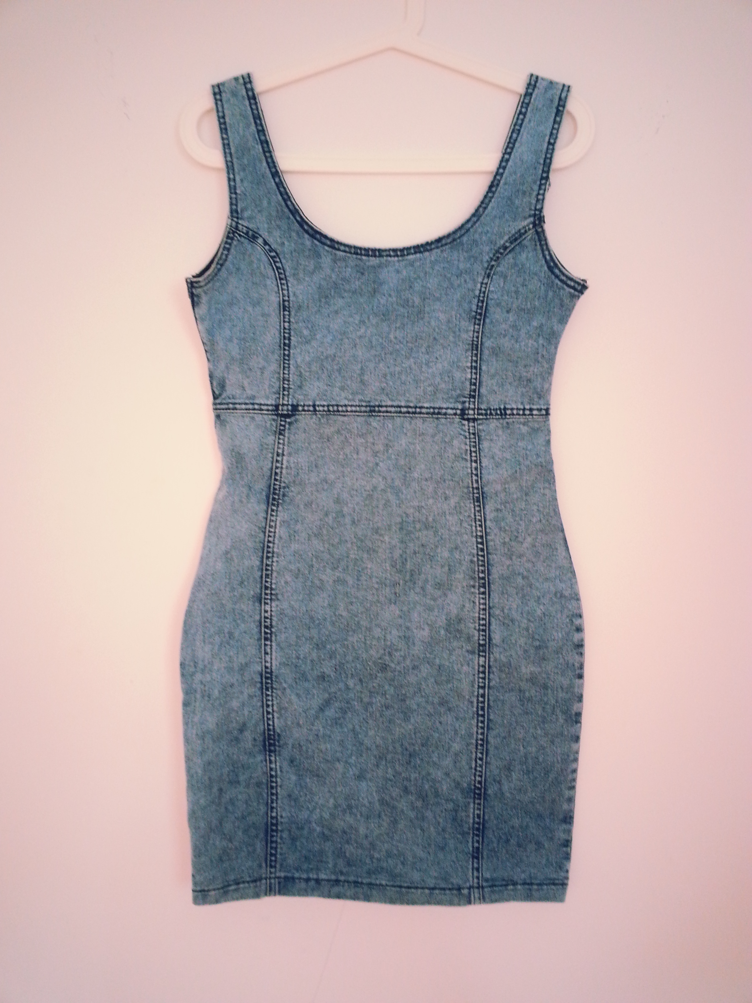 1681a68f33f blue denim dress on Storenvy