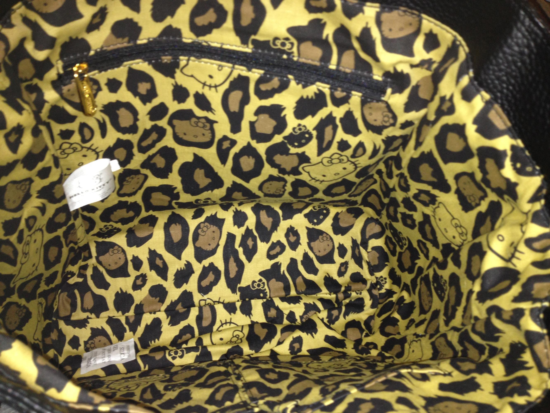 ed6989408 Hello Kitty Black embedded satchel/ tote on Storenvy