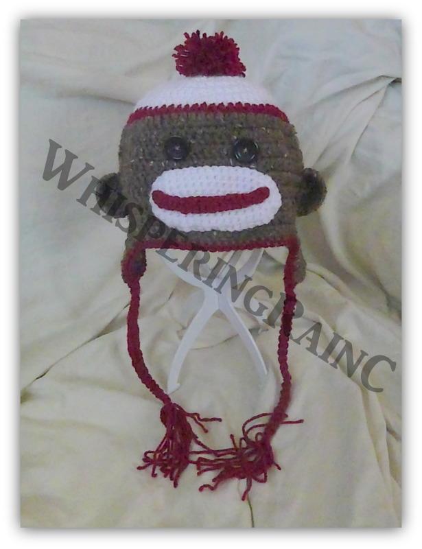 Crochet Sock Monkey Hat On Storenvy