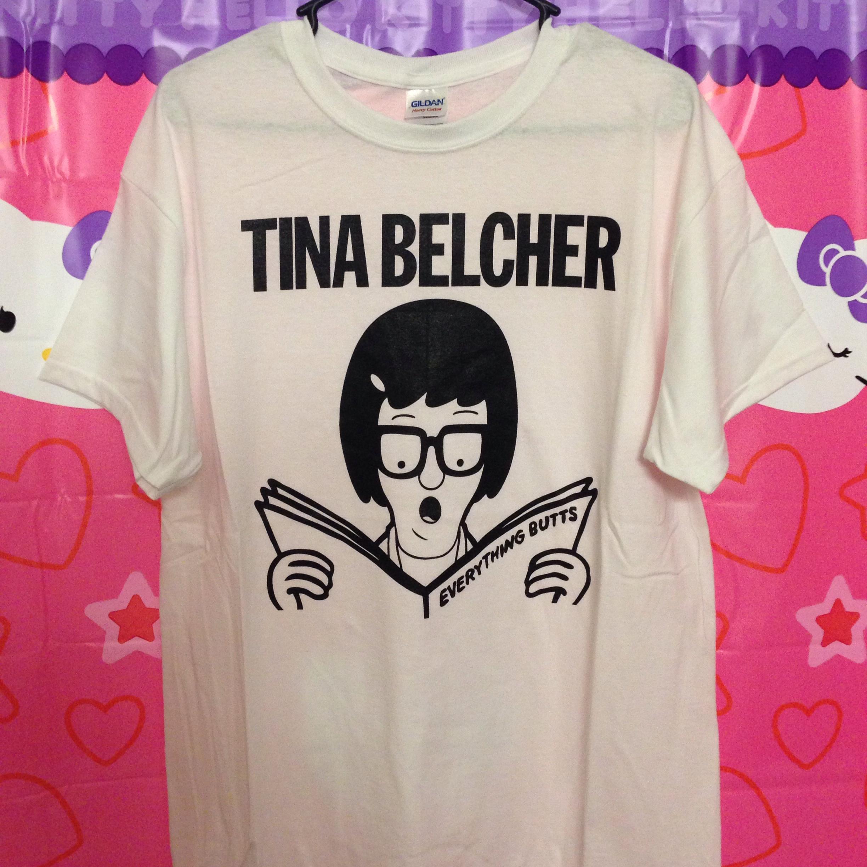 Tina Belcher X Descendents Parody Shirt White Bob S
