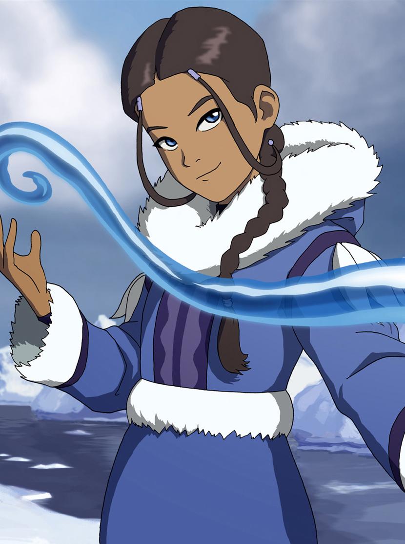 Avatar The Last Airbender Katara Hoodie On Storenvy