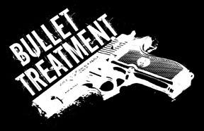 Bullet Treatment Gun Logo Sticker On Storenvy