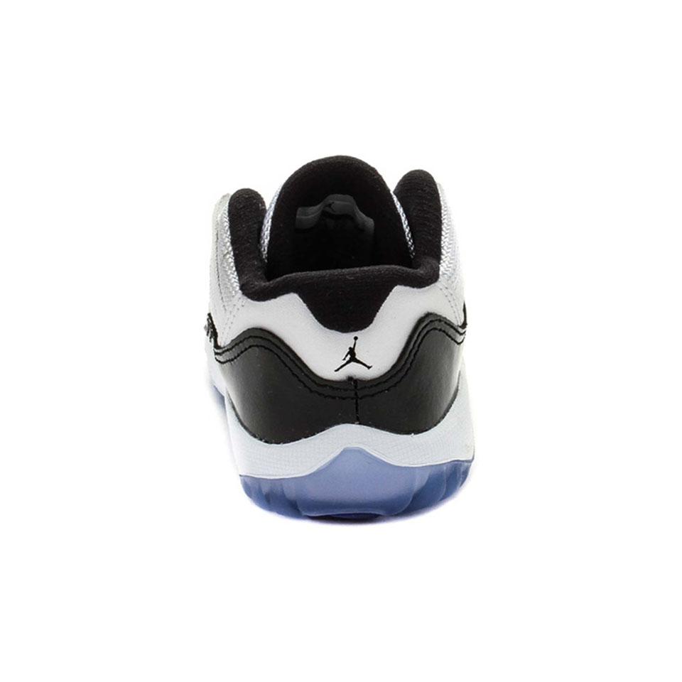 size 40 9e82e 758b9 Air jordan retro 11 low concord infant toddler lifestyle shoe whiteblack  dark concord 046b8828 small