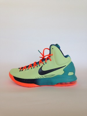 finest selection e37eb 5d2ce Nike kd v 5 area 72 all-star extraterrestrial galaxy kevin durant size 8.5
