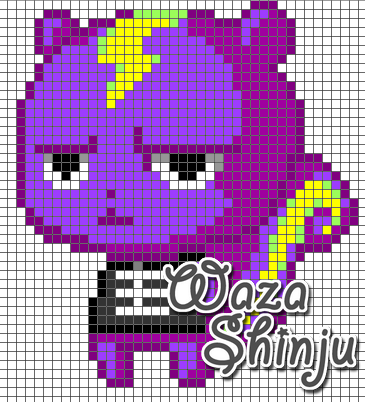 Villager Animal Crossing Pixel Art · Waza Shinju · Online ... - Pixel Art Animal Crossing