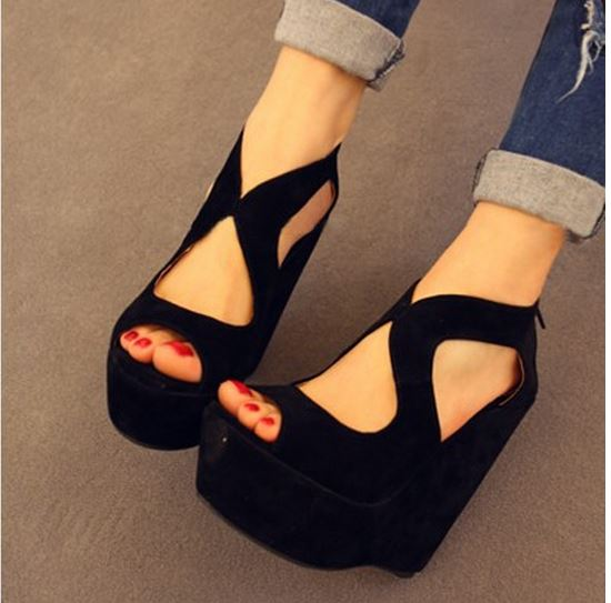 d922424dcc8 Fashion 20party 20high 20heel 20wedge 20shoes 20women 20pumps 20summer  20sandals small