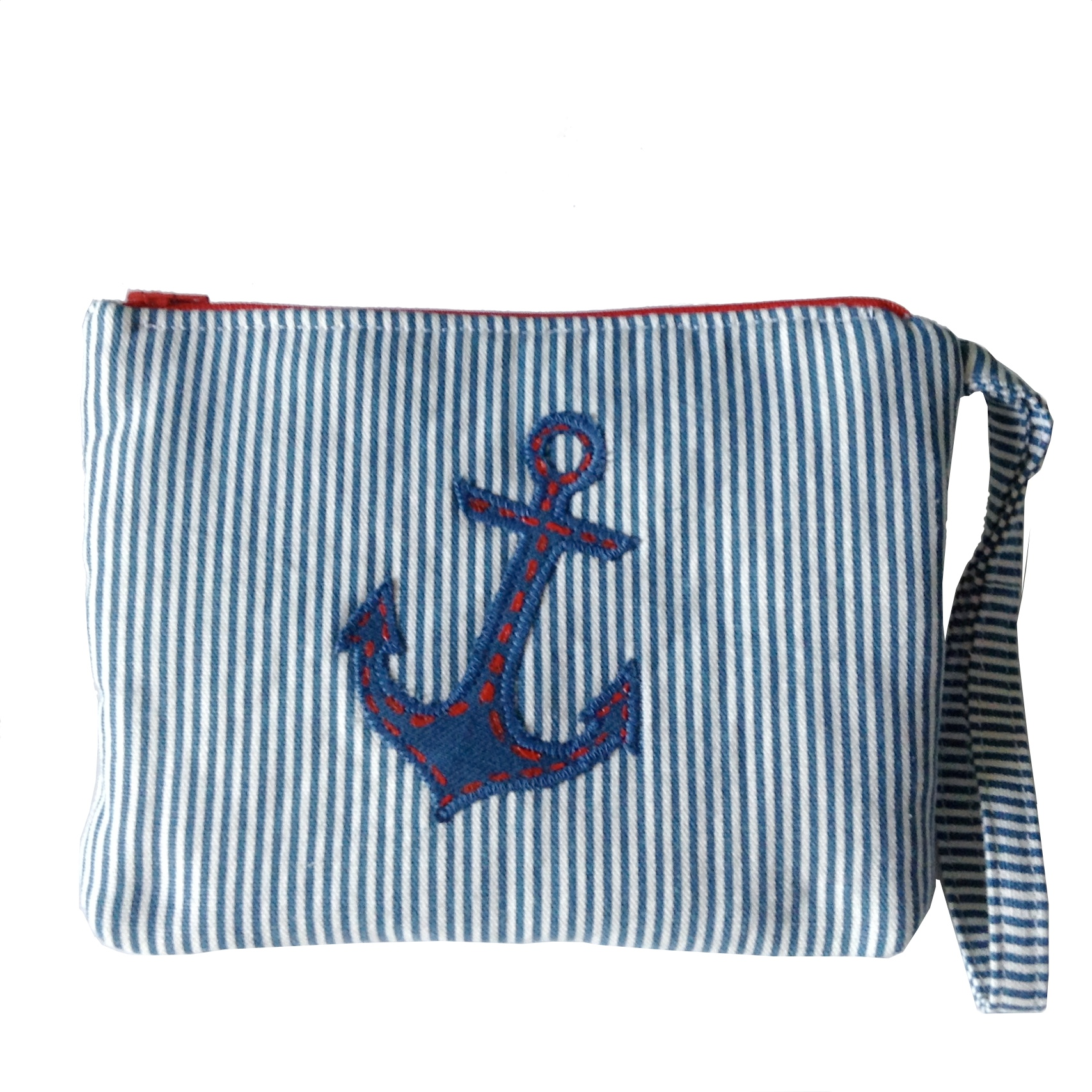 Wristlet Wallet - Nautical by Lady Lindy Handmades