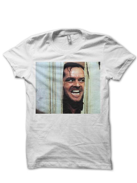 Jack Nicholson The Shining T Shirt Classic Movies Shirts