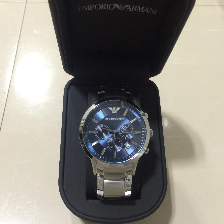 ... 100% GENUINE Emporio Armani Renato Chronograph AR2448 Men s Watch   LIMITED TIME 50% OFF ... 25512f030