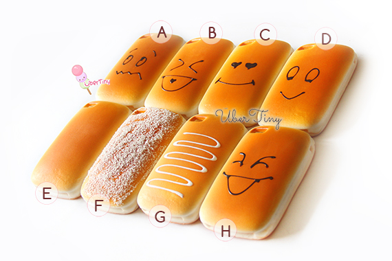 Squishy iPhone Bread Emoticon Cover · Uber Tiny · Online Store ... e9fa9c332