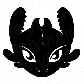 Toothless Decal On Storenvy
