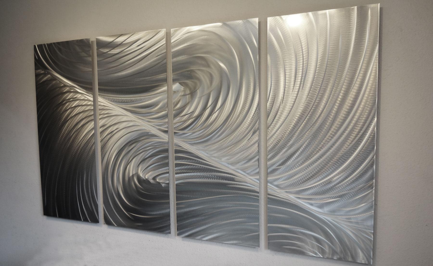 "Echo 36"" Tall- Metal Wall Art Abstract Contemporary Modern"