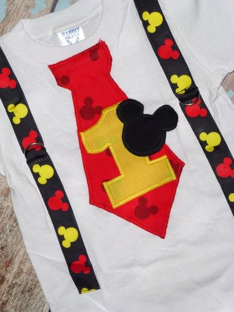 Mickey Birthday Boy TeeBodysuit
