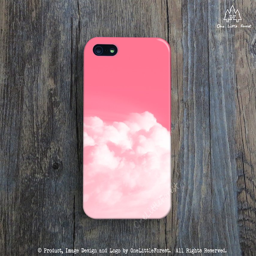 huge discount 8a9fe 3aed9 DREAMY iPhone Case, Pink iPhone 5 Case, Cloud Color iPhone 5c Case, Cute  iPhone 4s Cover, Unique iPhone 5s Case, Designer iPhone 4 Cover from ...