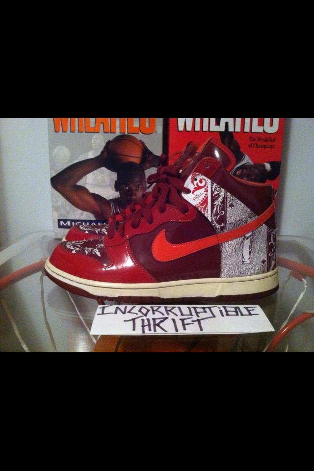 Dontrelle Willis Nike Dunks